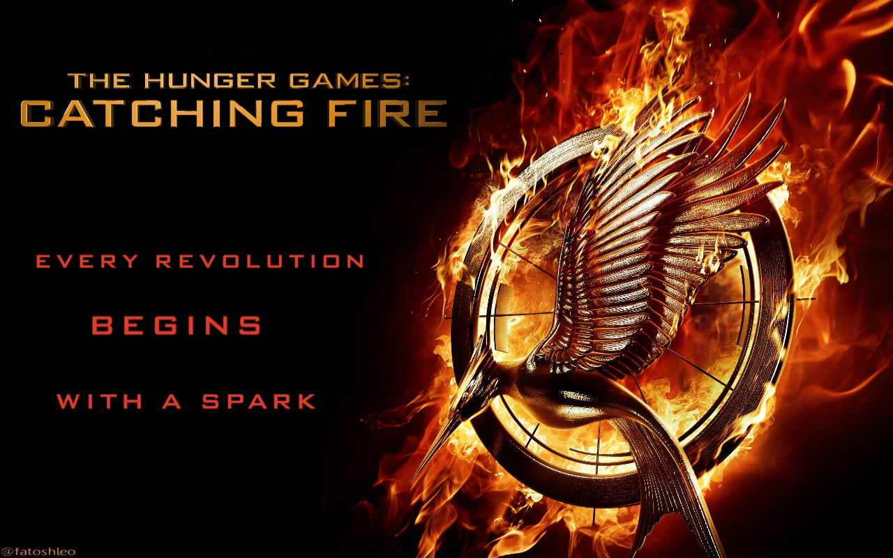 THG Catching Fire Wallpaper - The Hunger Games Wallpaper ...