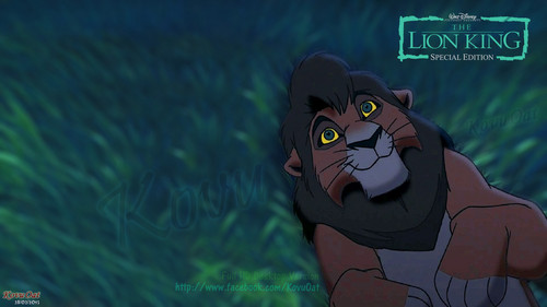 TLK Adult Kovu Full HD Desktop Background