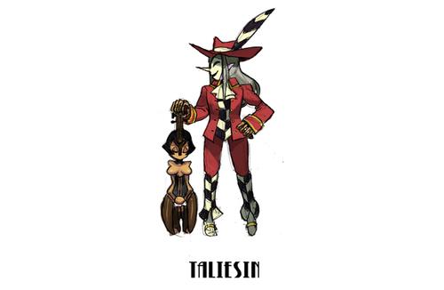 Taliesin and paraluman