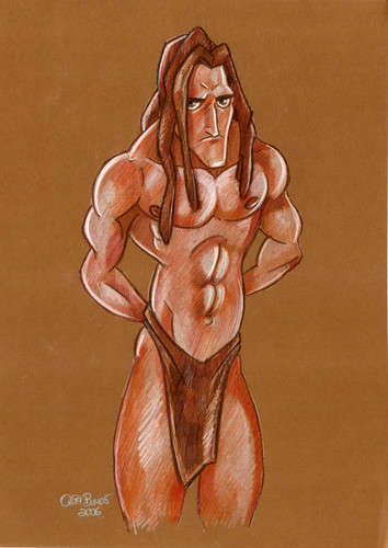 Childhood Animated Movie heroes wallpaper titled Tarzan