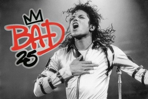 "The ""25th"" Anniversary Of ""BAD"" Logo"