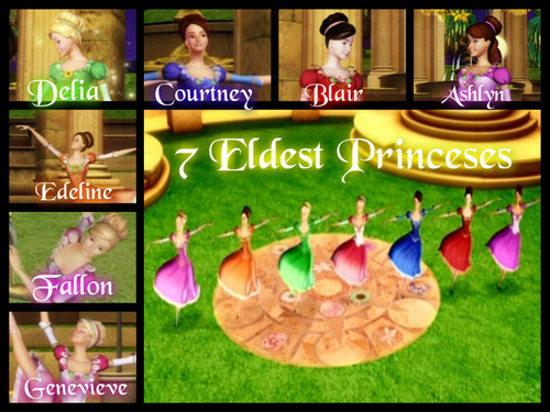 The 7 Eldest Princesses