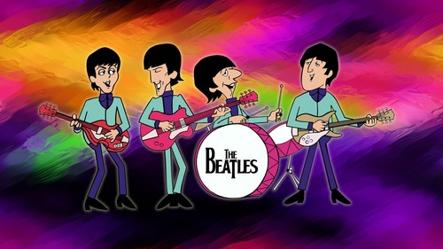 The Beatles desktop achtergrond