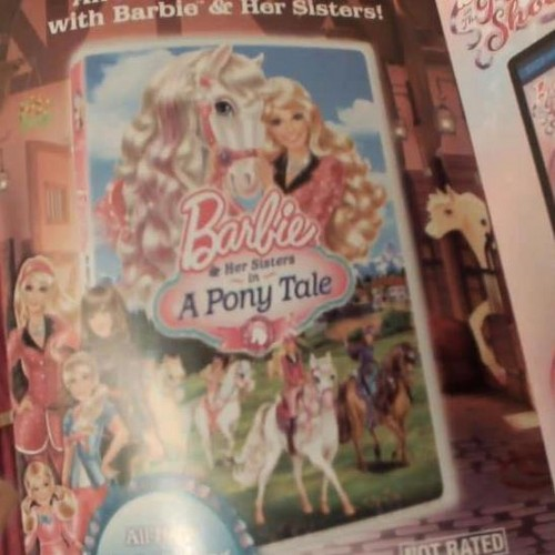 The DVD Cover Of Barbie And Her Sisters In A parang buriko Tale