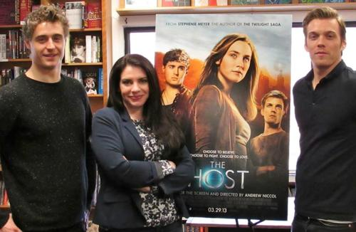 The Host Book Signing
