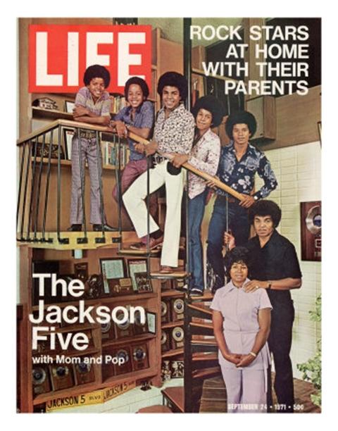 "The Jackson Family On The Cover Of ""EBONY"" Magazine"