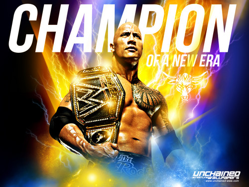 "Dwayne ""The Rock"" Johnson wallpaper called The Rock - Champion of a new Era"