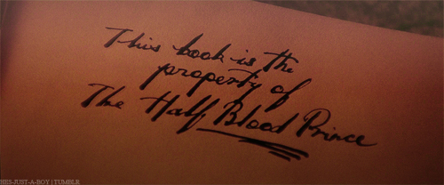 The half Blood Prince's Property