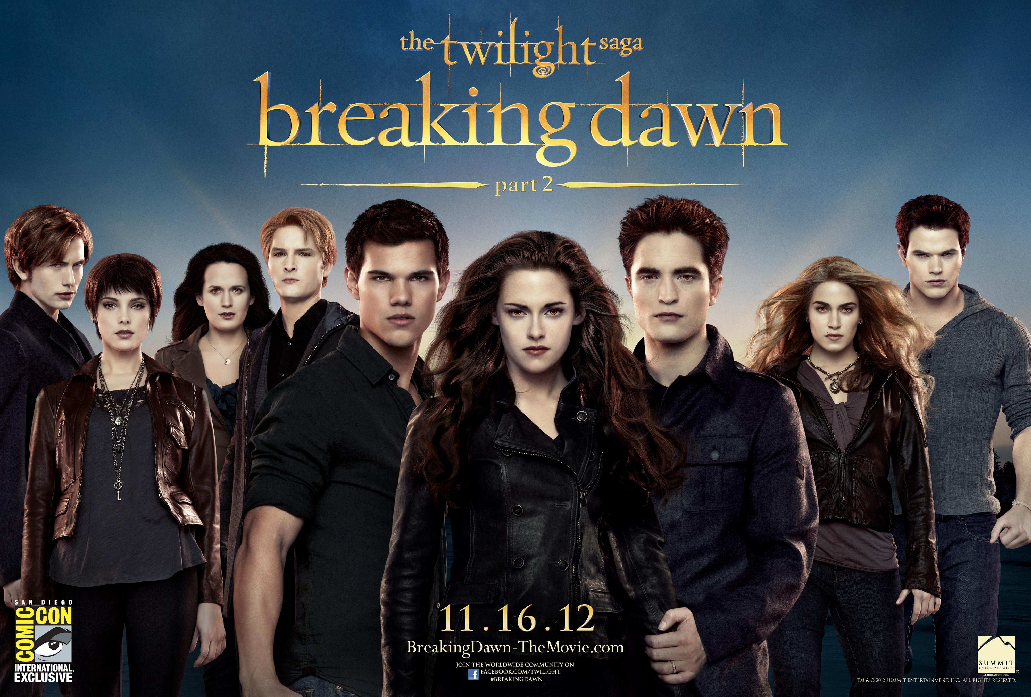 Twilight the vire diaries breaking dawn part2