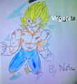 Vegeta ssj 2 - dragon-ball-z fan art