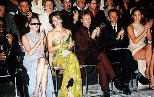 Versace mostrar 1998