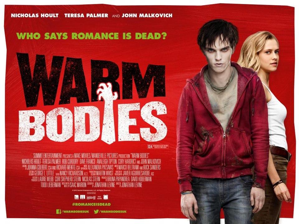 Warm Bodies UK Poster