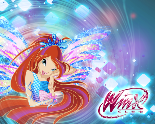 Winx ckub 5 season Bloom sirenix wallpaper\5 сезон винкс блум сиреникс