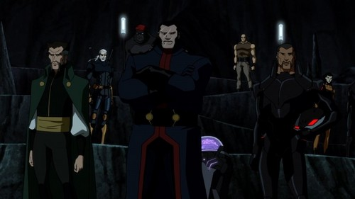 "영 저스티스 바탕화면 probably with a surcoat, 외투 entitled Young Justice Epiosde 44 ""Intervention"""