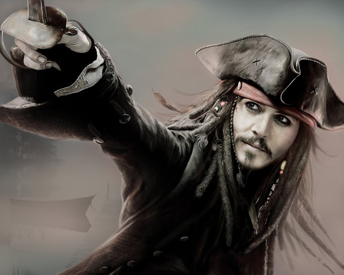 amazin' art & jack! - johnny-depp Fan Art