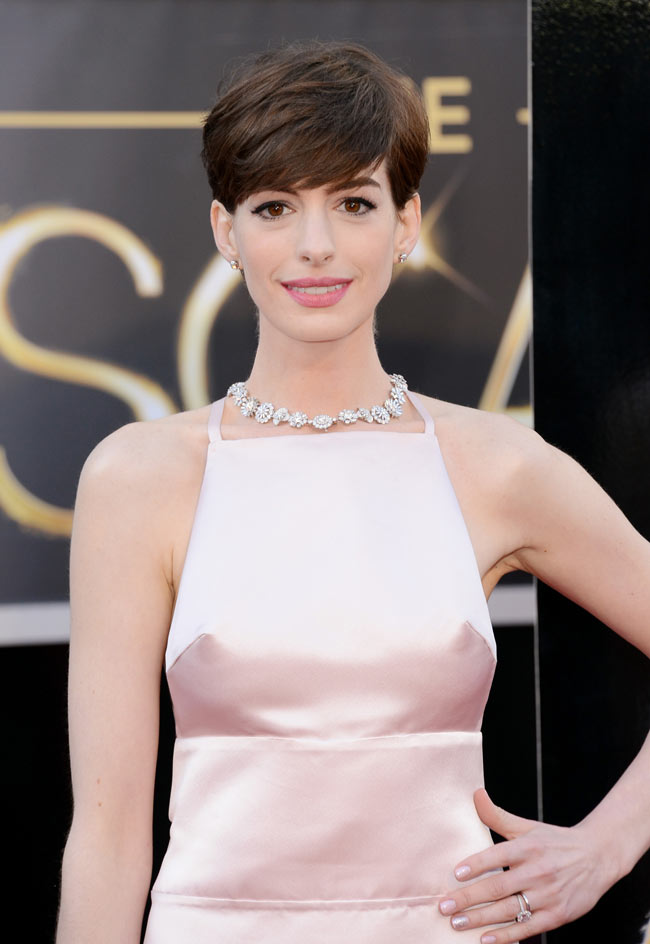 Anne Hathaway Dress Slip