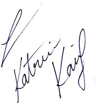 autograph of katrina kaif - katrina-kaif Photo