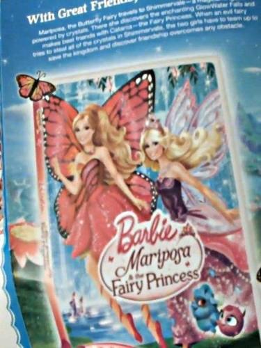 búp bê barbie mariposa & the fairy princess