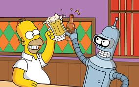 bender and homer
