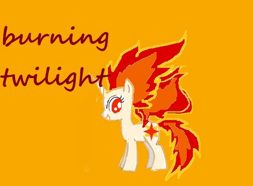 burning twilight