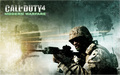 call of duty 4 - writing wallpaper