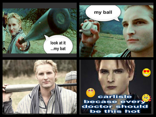 The Cullens वॉलपेपर probably with ऐनीमे entitled carlisle and baseball