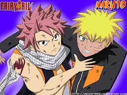 crossover Naruto & natsu