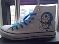 custom doraemon converse - doraemon photo