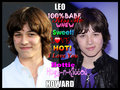 cutie - leo-howard fan art