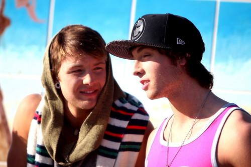 Emblem 3 wallpaper probably with a boater and a fedora titled emblem 3