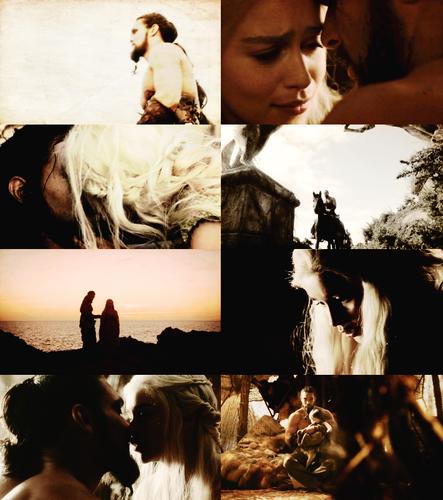 Game Of Thrones Images Daenerys Targaryen & Khal Drogo HD