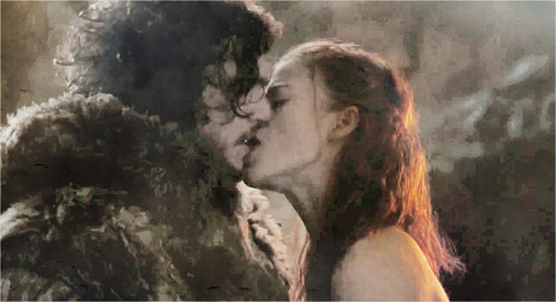 Game of Thrones wallpaper entitled Jon Snow & Ygritte