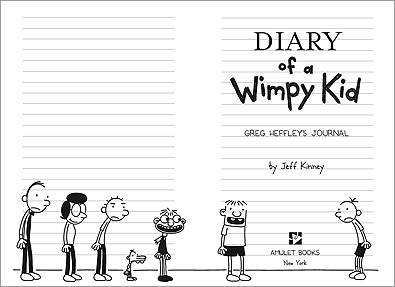 Diary of a Wimpy Kid 壁纸 entitled greg!