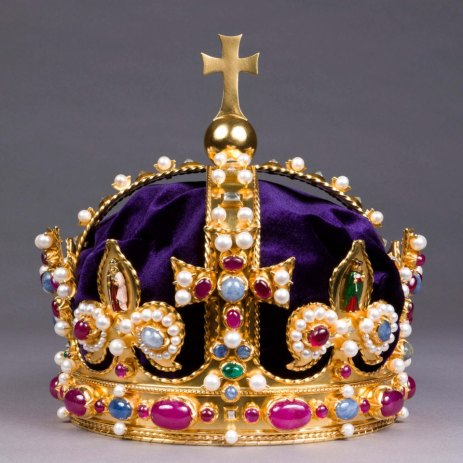 The Letter A 壁纸 called henryvii-replica-imperialcrown.jpg
