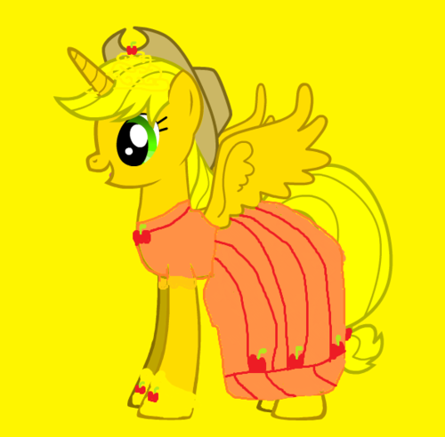 if epal, apple jack was a princess