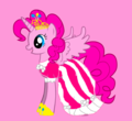 if pinkie pie was a princess