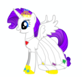 if rarity was a princess