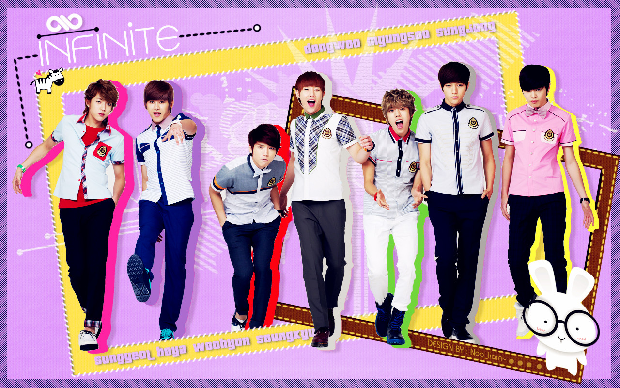 infinite infinite wallpaper 33719697 fanpop
