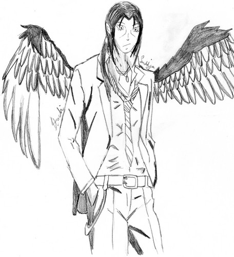 itachi with wings