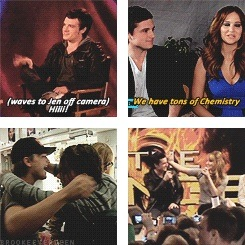 joshifer being adorable