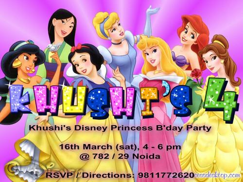 khushi's invite
