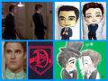klaine - glee fan art