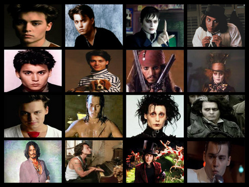 many faces of depp