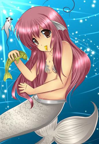 mermaid animé