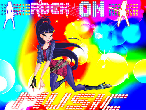 Musa from WINX wallpaper with Anime titled musa rock on