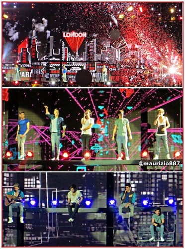 One Direction wallpaper entitled one direction tour, 2013