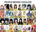 people behind vocaloid - vocaloids photo