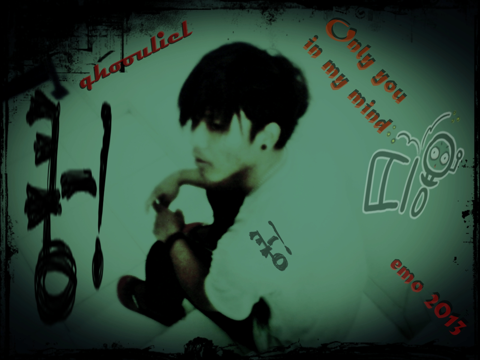 Wallpaper Emo Love couple : qhoouliel_abcd - Emo Love Wallpaper (33711017) - Fanpop