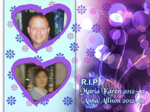 rip maria karen 2012 10 & anna allison 2012 11