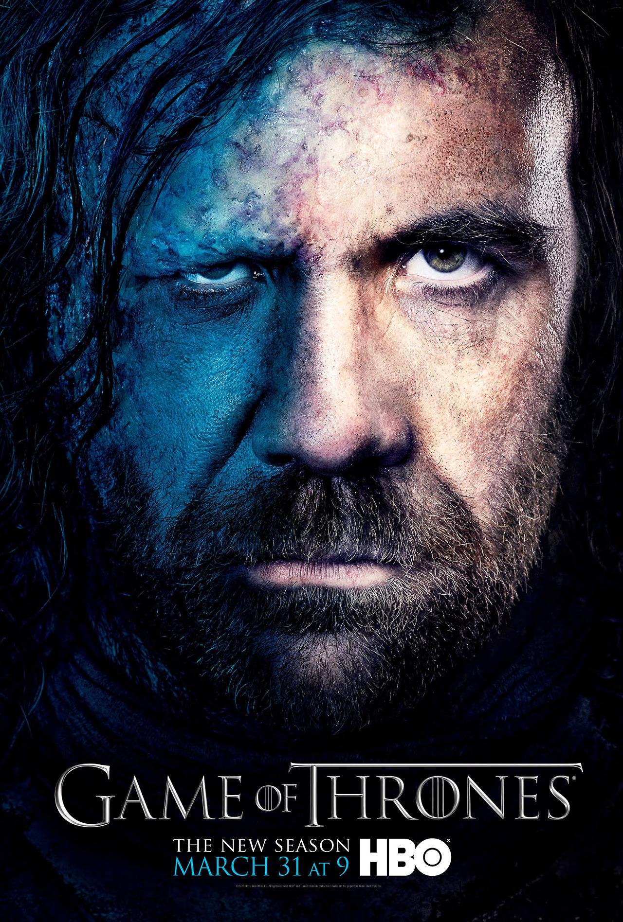 Season 3 - Character Poster - Sandor Clegane